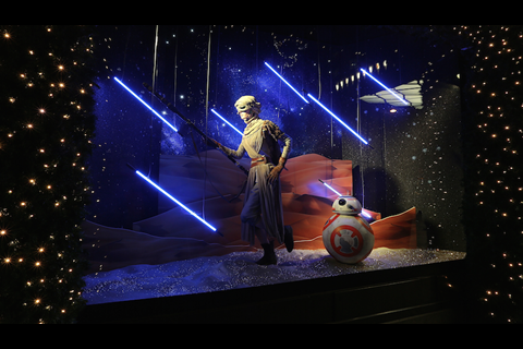 Star Wars: The Force Awakens - Selfridges, London